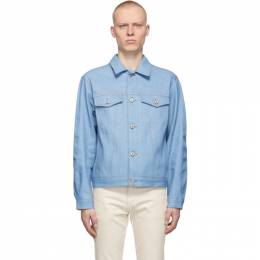 Naked And Famous Denim Blue Selvedge Denim Summer Sky Jacket 164601764