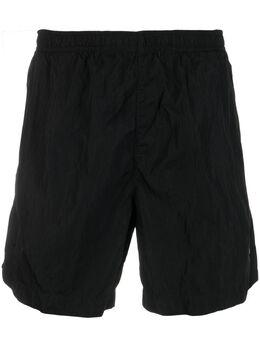 C.P. Company плавки-шорты с нашивкой-логотипом 10CMBW193A000004G