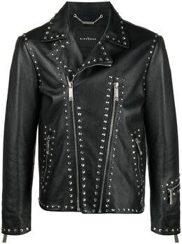 John Richmond байкерская куртка World Tour с заклепками RMP21205GBFA