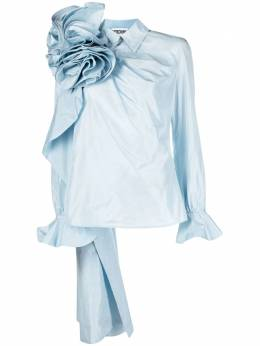 Moschino блузка с объемным цветком J02030433