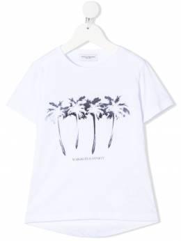Paolo Pecora Kids футболка с принтом PP2664