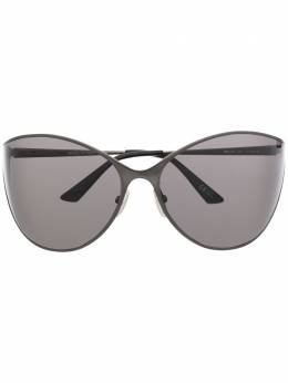 Balenciaga Eyewear солнцезащитные очки в массивной оправе BB0137S