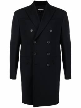 Dsquared2 двубортное пальто с молнией S71AA0400S40320