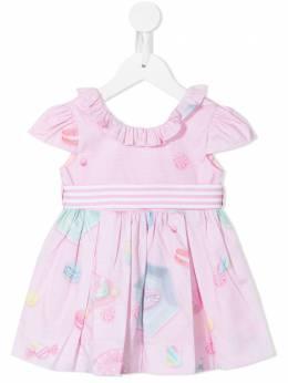 Lapin House платье с принтом 211E3216