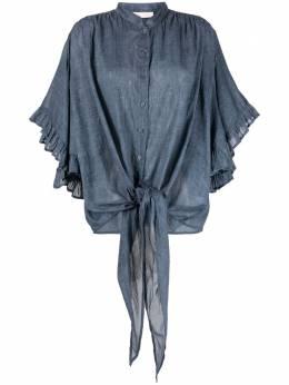 Mes Demoiselles блузка Selegante с оборками 21SELEGANTE