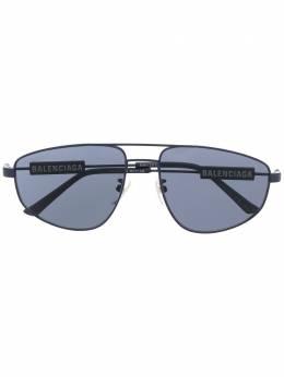 Balenciaga Eyewear солнцезащитные очки-авиаторы BB0115S