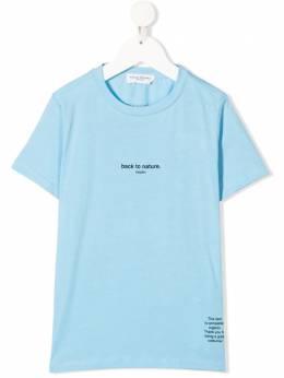 Paolo Pecora Kids футболка с надписью PP2692