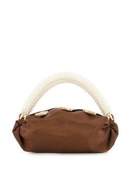 0711 сумка Nino с ручками из искусственного жемчуга 0711CC03