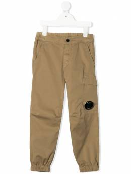 C.P. Company Kids брюки с эластичным поясом 10CKPA078A005400G