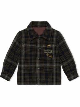 Dolce & Gabbana Kids куртка в клетку тартан L41C97G7XLY