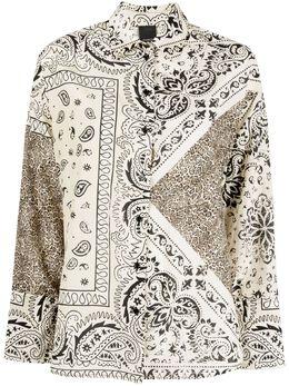 Pinko блузка с принтом пейсли 1N132U8556CZ9