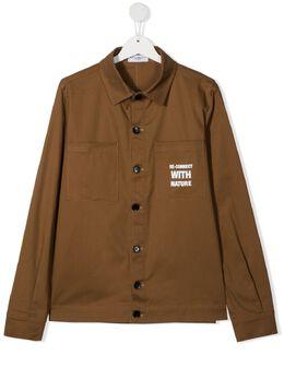Paolo Pecora Kids TEEN long-sleeve cotton jacket PP2735