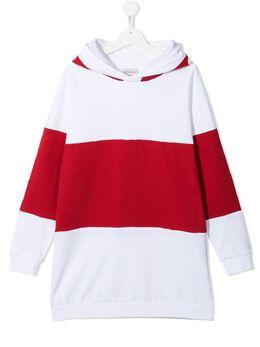 Moncler Enfant худи с контрастными полосками и логотипом G19548G74910809AG