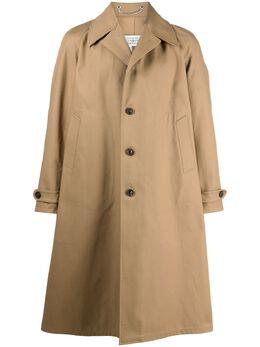 Maison Margiela однобортное пальто S50AH0096S53754