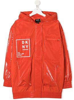 DKNY Kids плащ с логотипом D36639