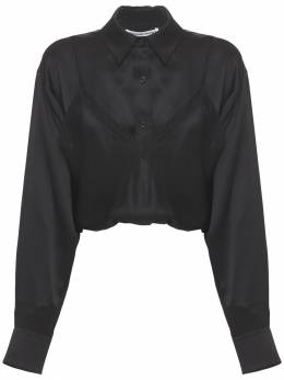 Silk Shirt W/ Camisole Alexander Wang 73IM15046-MDAx0