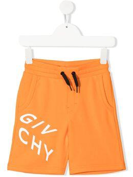 Givenchy Kids спортивные шорты с логотипом H24119