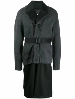 Maison Margiela layered belted trench coat S50AH0056S48086