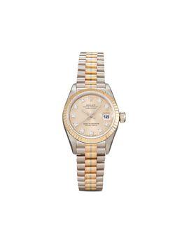 Rolex наручные часы Lady-Datejust pre-owned 26 мм 1992-го года 69179V27389