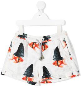 Mc2 Saint Barth Kids плавки-шорты с принтом JEA0001BAIT01
