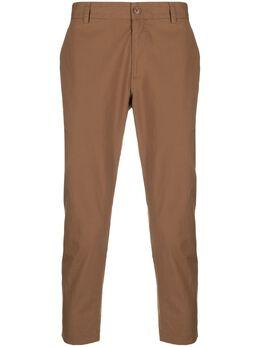 Daniele Alessandrini укороченные брюки чинос прямого кроя P3987R12374100