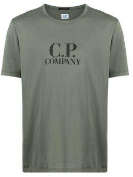 C.P. Company футболка с логотипом 10CMTS125A000444O