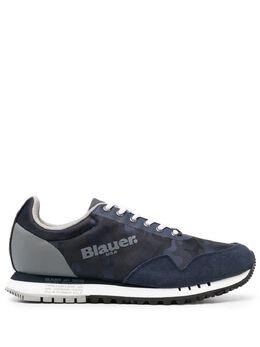 Blauer кроссовки с логотипом S1DENVER06CAS