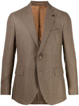 Gabriele Pasini однобортный пиджак строгого кроя GP17449