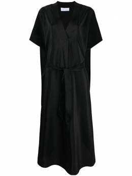 Christian Wijnants платье-кафтан Dalil с поясом DALIL