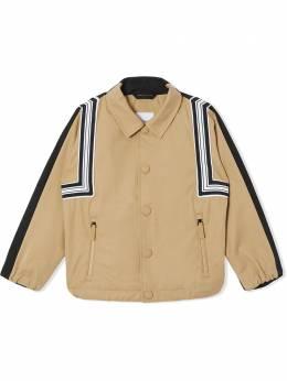 Burberry Kids куртка с принтом 8038338