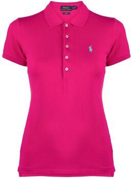 Polo Ralph Lauren рубашка поло с вышитым логотипом 211505654