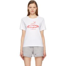 Undercover White Deer T-Shirt UC1A2802