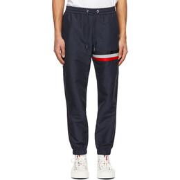 Moncler Navy Sports Lounge Pants 2A73300549ML