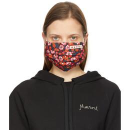 Marni Multicolor Floral Mask Cover ACMC0062A0 UTCZ54