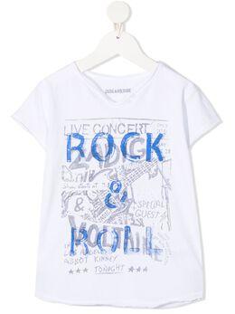 Zadig & Voltaire Kids футболка Rock & Roll SJTC1811E