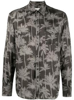 Laneus рубашка с принтом CMU6548