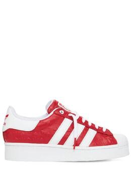 Кроссовки Valentines Superstar Adidas Originals 73I3EG007-U0NBUkxFVA2