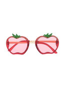 Monnalisa солнцезащитные очки в скульптурной оправе 9970387082