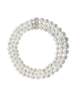Yoko London жемчужное ожерелье с бриллиантам Q1536NLET
