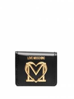Love Moschino logo-plaque wallet JC5635PP0CKK0
