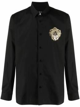Versace Jeans Couture рубашка с логотипом V-Emblem B1GWA6S530421