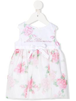 Miss Blumarine платье с цветочным принтом MBL3325