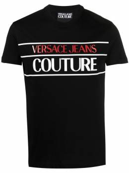 Versace Jeans Couture футболка с логотипом B3GWA7TC30319