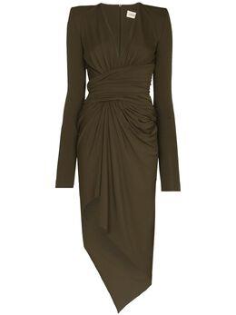 Alexandre Vauthier платье макси с V-образным вырезом 211DR14111029202