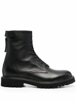 Woolrich zipped combat ankle boots WFW211540