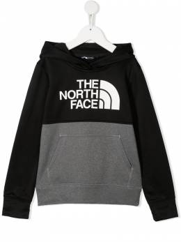 The North Face двухцветное худи с логотипом NF0A4937GVD