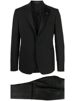 Tagliatore строгий костюм с однобортным пиджаком EFBR15A0108UEZ021