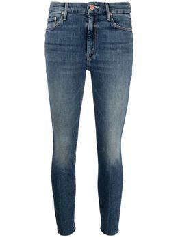 Mother джинсы скинни средней посадки 1411104