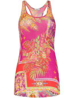 Etro Chora Printed Mini Dress 146115450