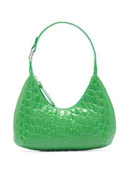 By Far Amber croc-embossed bag 21SSBASEMCCESMA